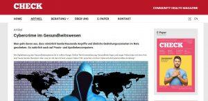 Cybercrim im Gesundheitswesen