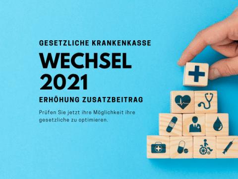 Gestztliche Krankenkasse 2021